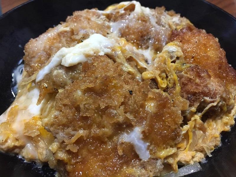 天草のとんかつ大富士のヒレカツ丼