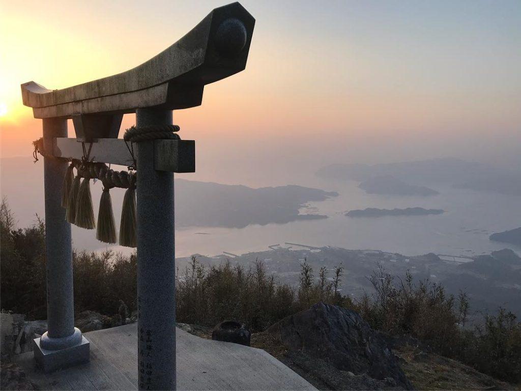 天草の天空の神社、倉岳神社